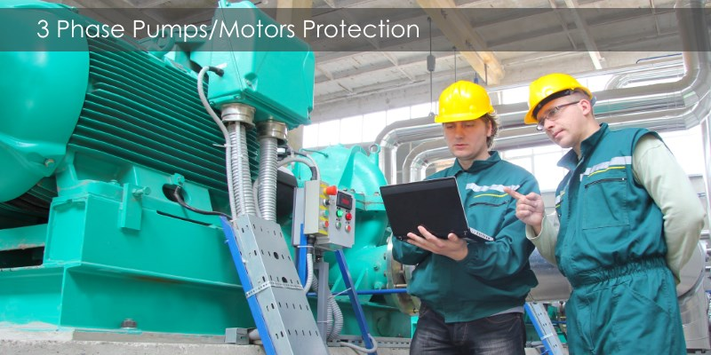 3 phase motor protection banner
